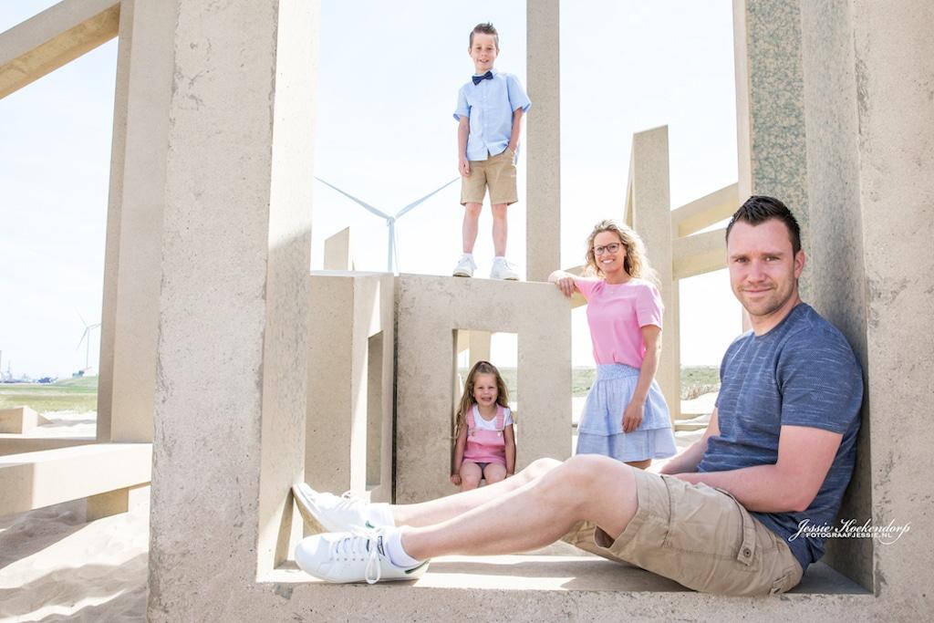 Spontane familie fotoshoot