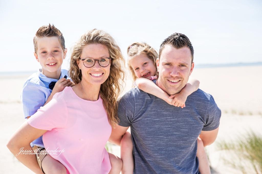 Ongedwongen Familie fotoshoot